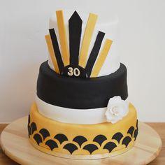 Gâteau Charleston - anniversaire 30 ans