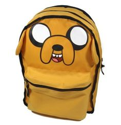 """Esta adorável mochila do Jake!   20 presentes para o fã de """"Hora de Aventura"""" da sua vida ficar maluco"""