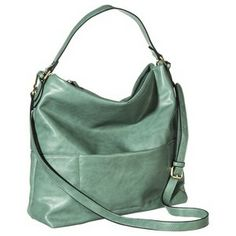 Merona® Slouchy Hobo Handbag with Removable Strap - Mint