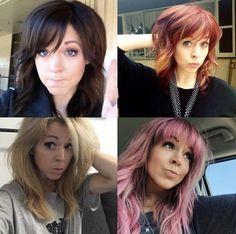 Her Music, Good Music, Lindsey Stirling Hair, Pretty Hair, Medium Hair Styles, Violin, Divas, Amanda, Hair Beauty