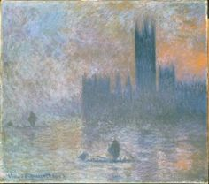 Claude Monet, 'The Houses of Parliament (Effect of Fog)', 1903-4.