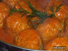 Pasta z wątróbki Polish Recipes, Polish Food, Cabbage Rolls, Risotto, Curry, Food And Drink, Cooking Recipes, Potatoes, Stuffed Peppers