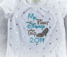 Personalized My First Trip to Disney Boutique by jessiejboutique, $20.00
