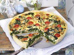 Osterbrunch-Rezepte - frühlingshafte Leckereien für liebe Gäste - spinat-kaese-quiche10  Rezept