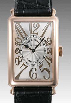 Swiss Franck Muller Long Island 18K Rose Gold Lady's Replica Watch