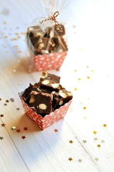 Fudges aux deux chocolats - Bergeou