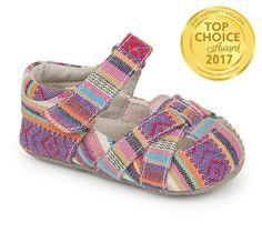 Camila Multi Stripe Crib Shoe Award