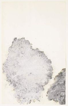 cy twombly painting. from leda and the swan series.