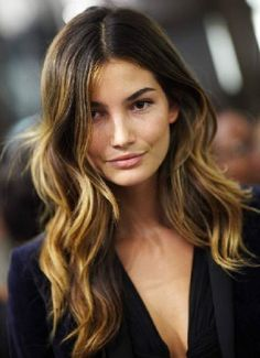 ombre, probably the only reason i would ever want darker hair, so gorgeous.