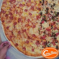 Rekindle your #passionforfood with Two-In-One Pizza only at #CaldaPizza.