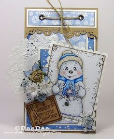 Snoowie with Snowflake, So Jolly Collection, Magnolia stamps