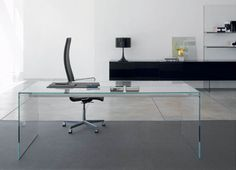 How do I Choose the Best Contemporary Home Office Furniture? By using contemporary home office furniture that serves to promote a good working environment, offic. Contemporary Home Office Furniture, Home Office Furniture Design, Modern Office Desk, Mesa Home Office, Home Office Chairs, Bureau Design, Home Design, Design Ideas, Home Interior