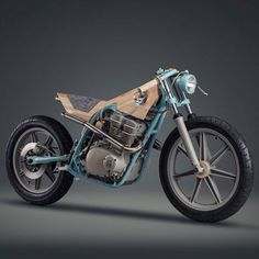Motorbike reinterpreted as a furniture piece