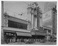 The Los Angeles Theatre ... there were lots of grand old theatres on Broadway