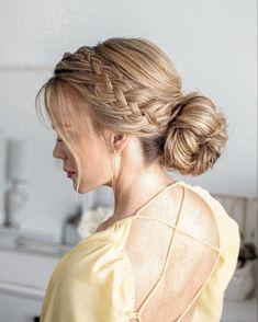 @missysueblog Pixie Hairstyles, Bride Hairstyles, Summer Hairstyles, Easy Hairstyles, Medium Hair Styles, Curly Hair Styles, Braids With Weave, Light Brown Hair, Hair Highlights