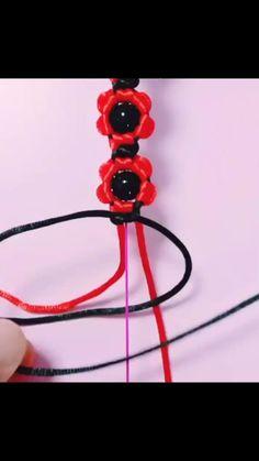 Diy Friendship Bracelets Tutorial, Diy Bracelets Easy, Bracelet Tutorial, Handmade Bracelets, Handmade Wire Jewelry, Diy Crafts Jewelry, Bracelet Crafts, Diy Bracelets Patterns, Macrame Bracelet Patterns