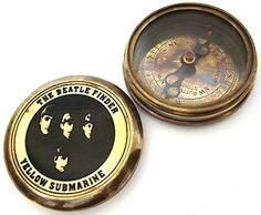 casanova nauticals THE BEATLE FINDER Compass YELLOW SUBMARINE - Collectable Beatle Compass with Leather Case Brass Pocket Compass with Removable Lid is a beautiful solid brass reproduction of an antique air-damped compass. Under the Lid poem is engraved. The high quality jewelled compass needle settles to No http://www.comparestoreprices.co.uk/december-2016-3/casanova-nauticals-the-beatle-finder-compass-yellow-submarine--collectable-beatle-compass-with-leather-case.asp