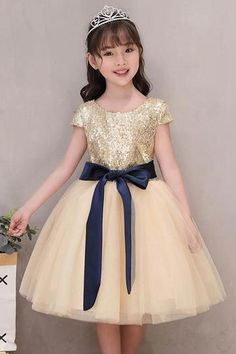 75487fff2f2 A-line Princess Short Sleeves Tutu Fall Flower Girl Dresses