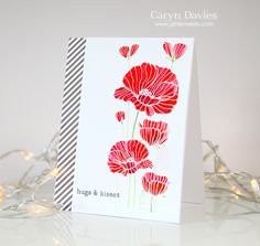 Gorgeous card created by Caryn for the Simon Says Stamp Wednesday challenge (All Things Bright and Beautiful)