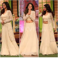 Celebrity Style,Malasa,Jennifer Winget Not Lehenga Designs, Indian Attire, Indian Wear, Indian Dresses, Indian Outfits, Indian Designer Wear, Bollywood Fashion, Indian Bridal, I Dress