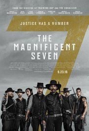 Seven gun men in the old west gradually come together to help a poor village against savage thieves.