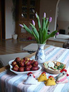 U MARIE : Velikonoční Veselé Velikonoce, vajíčka mám už naba...
