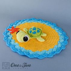 Looking for your next project? You're going to love Bob the Turtle Lovey by designer oneandtwoco.
