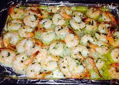 JJS OWN Basil Vinaigrette marinated grilled shrimp. Marinated Grilled Shrimp, Salad Dressing, Vinaigrette, Basil, Meat, Food, Essen, Salad Dressings, Meals