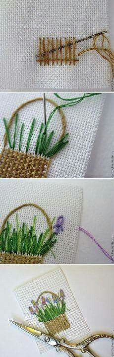 Thrilling Designing Your Own Cross Stitch Embroidery Patterns Ideas. Exhilarating Designing Your Own Cross Stitch Embroidery Patterns Ideas. Embroidery Designs, Hand Embroidery Stitches, Embroidery Techniques, Embroidery Art, Embroidery Applique, Cross Stitch Embroidery, Cross Stitch Patterns, Simple Embroidery, Needlepoint Stitches