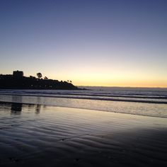 Playa La Boca #Concon #Chile Chile, Beautiful Places, Celestial, Spaces, Sunset, Water, Outdoor, Mouths, Beach