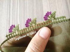 Crochet Elephant Pattern, Crochet Edging Patterns, Crochet Lace Edging, Baby Knitting Patterns, Crochet Stitches, Knit Crochet, Saree Kuchu Designs, Lace Design, Ribbon Embroidery