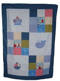 Nautical themed quilt