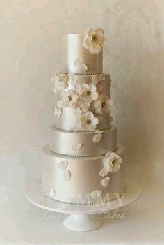 Bolos de casamento 2015 brancos, bolos de casamento brancos, tendência para bolos de casamento 2015, bolos decorados brancos