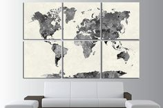 world map canvas art world map canvas map canvas world map wall art map on canvas world map print world map poster world map travel map world map art world map art print large world map world map wall decor ========== Imagine prints with amazing color fidelity for the most demanding. We use high quality canvas and Ink, combining extreme print quality and high print speeds in production canvas wall decor for your home & office. This galle...