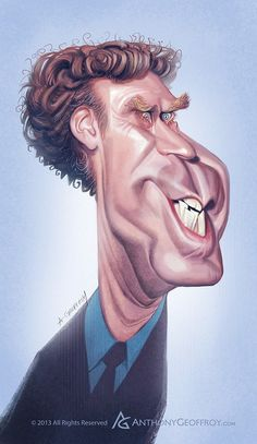Will Ferrell by Anthony Geoffroy (France)