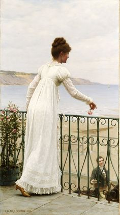 A Favour, by Edmund Blair Leighton