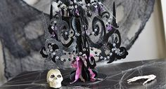 Sinister Candelabra Decor by Thienly Azim SVGcuts.com