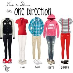 fall one direction outfits (Hannah's note: Zayn's and Liam's outfits look awesome)