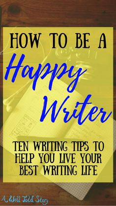 Writing a book can be a lot. It can suck you dry, and there are no guarantees. But you have the power to make a happy writing life for yourself. Fiction Writing, Writing Quotes, Writing Advice, Writing Resources, Writing Help, Writing Skills, Writing A Book, Book Writer, Writing Practice