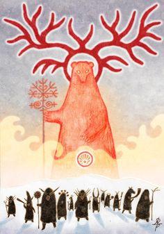 "#Veles , #slavic_gods, #mythology  ""The Okruta"" http://vesemir.blogspot.ru/2014/11/blog-post_25.html"