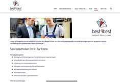 Job: Servicetechniker (m,w) für Krane