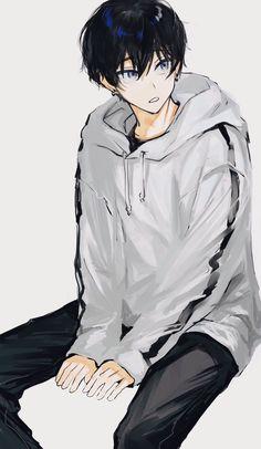 すえちー (@suechiee) / Twitter Cool Anime Guys, Handsome Anime Guys, Cute Anime Boy, Anime Art Girl, Anime Oc, Dark Anime, Manga Anime, Cute Anime Character, Character Art