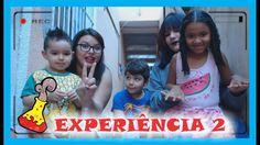 EXPERIÊNCIA 2: BICARBONATO E VINAGRE - DUDU E FAMILIA