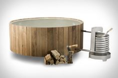 Dutchtub Wood gives you all the opulence of a hot tub, without all the intricacies of plumbing and electricity, letting you have a hot tub anywhere you have the space. With an interior made from high-quality polyester, and the outside made from preserved wood, this tub is weatherproof, and lightweight (so light that two people can easily lift it). It also functions simply, using a wood-fired stove to heat it, and natural circulation to move the water through a stainless steel coil. $6,600