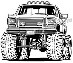 ford f-150 4x4 truck clipart, buy two images get one free