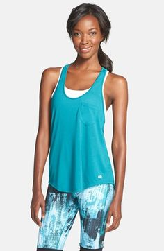 Alo 'Extreme' Racerback Tank available at #Nordstrom