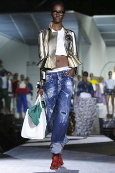 Dsquared2 Ready To Wear Spring Summer 2015 Milan - NOWFASHION