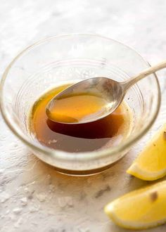 Brown Butter in a small glass bowl with a teaspoon scooping some up. Fish Dishes, Seafood Dishes, Seafood Recipes, Cooking Recipes, Catfish Recipes, Cooking Fish, Easy Cooking, Cooking Ideas, Brown Butter Sauce