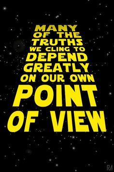 Obi Wan Kenobi Star love positive words
