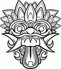 chinese new year horse crafts | chinese new year dragon mask ... - Chinese Dragon Mask Coloring Pages
